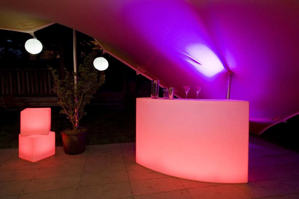 Bar, LED