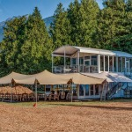 Pemberton Festival VIP Tent